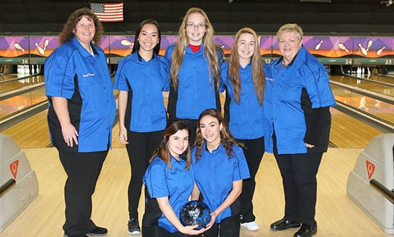 Girls Bowling Team