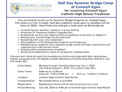 Summer Bridge Program at CEC