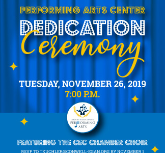 Performing Arts Center Dedication Ceremony