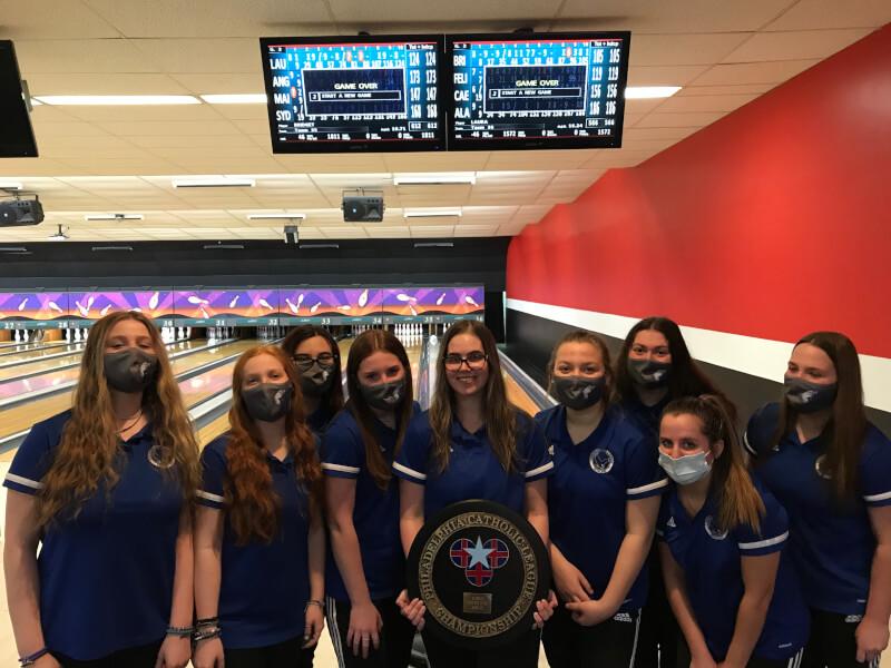 Girls Bowling Wins PCL Championship