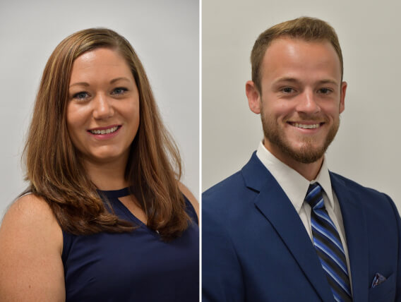 CEC Welcomes Jordan Schiavo '13 and Stephanie Marriott '03